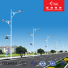6m steel double arm with CE outdoor led street light