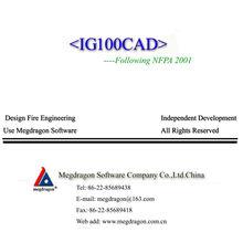 IG-100 de diseño de sistemas y software de cálculo <IG100CAD>