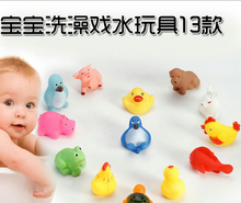 2014 Hot selling Environmental protection PVC baby bath toy yellow duck!