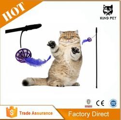 Pet Production/New Cat Toy Cat Teaser Stick Rod