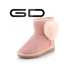 2015 new design ladies flat durable winter boots shoes