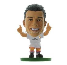 Custom football player toy Ronaldo figure,Custom plastic footall player toy,Mini football player toy ronaldo figure