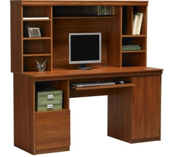 Cherry mdf desk long study computer table desk computer table with