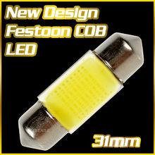 Newly Design ! High Quality COB LED Bar 4x4 Roof Light for Car 31mm 1.25'' D3175 DE3022