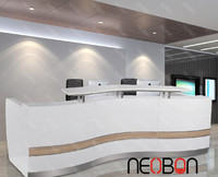 New style front office counter design, excutive desk front counter, office counter table design furniture