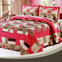 Custom printing luxury micro fleece duvet cover set