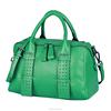 Womens Luxy Handbags European Fashion Genuine Leather Litchi Grain Boston Handbags