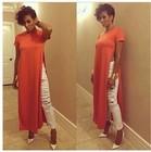 Hot 2015 Sexy Cotton Club Midi vestido de 3 cores Plus Size S-XL