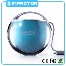 Crystal ball promotion gift discoloring logo wireless mini wholesale bluetooth speaker