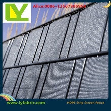 China supply private dark green fence netting for garden