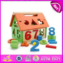 Prodotto caldo nuovo per il 2015 blocco di legno di, a buon mercato di giocattoli in legno rompicapo blocco, educativo giocattolo di legno iq blocco puzzle w11h003