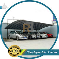 2015 NEW PRODUCTS : POLYCARBONATE CARPORT WITH AL FRAME