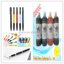 Best-selling good design ball point pen ink on paper , highlighter available
