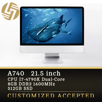 New arrival OEM 21.5 inch All in one TV PC computer