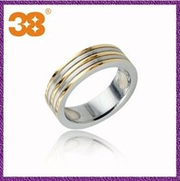 Justeel jewellery cheap wholesale men spikes stainless steel ring