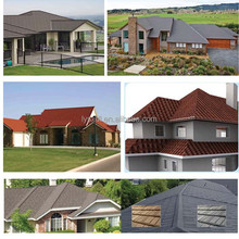 stone coated metal roof tile/roof steel sheet/ stone coated roof tile