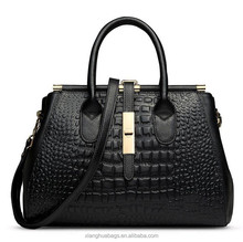 Beautiful leather tote hand bags for lady