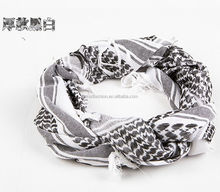 Outdoor Windproof Desert ARAB Hijabs Cotton Military Scarf