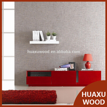 Huaxu Modern TV Stand in Red Lacquer