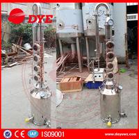 50L~200L moonshine still,4 ~8 plates copper column,home alcohol distillers distilling equipment