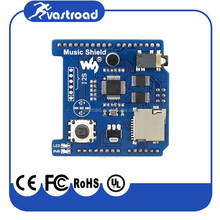 Audio Play/Record VS1053B Onboard Music Shield for Arduino Development expansion board