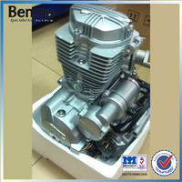 Export automatic wave Electric start silvery air-cooling CG150 chinese motorcycle engines
