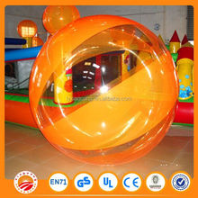 colorful water roller walking on water balls PVC inflatable water ball for sale