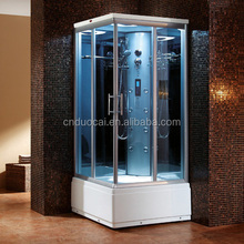 90cm New Design Aluminum Alloy Frame Steam Shower Room with Control Panel (DQ-F8861)