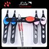 Professional Metal Rubber Eyebrow Tweezer Scissors Beauty Salon Tools