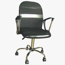black ESD Mesh Fabric Chair