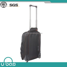 New product travel bag convert to a backpack from a duffle trolley bag