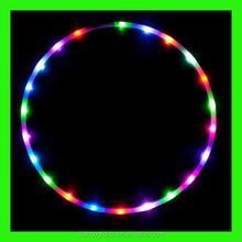 High quality LED hula hoop lights up hula hoops for for sale/led hula hoop
