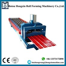 Color Steel Metal Roofing Sheet Roll Forming Machines to make Glazed Tile