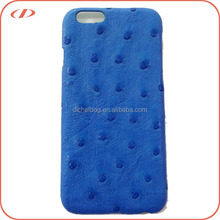 New arrival for iPhone 6 ostrich leather case
