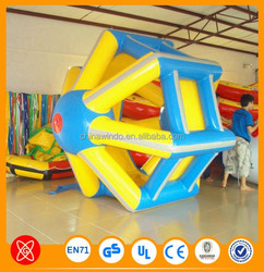 2015 Pink inflatable water roller /inflatable water wheel
