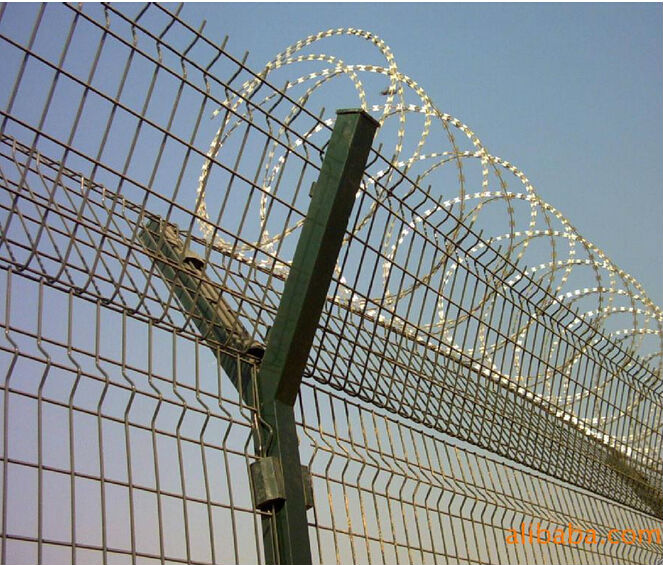 Razor Wire Mesh Fence/bto-22 Wire On Fence/razor Shape Barbed Wire ...