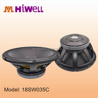 Powerful and deep bass good sound big excursion extreme subwoofers