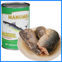 155g Chinese canned mackerel fish in brine