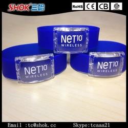 2015 new product led bracelet led silicone bracelet,led silicone bracelet, custom led bracelet