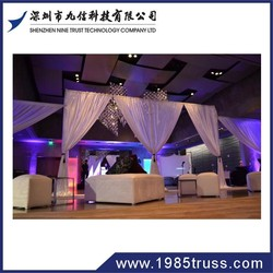 wall decor drapery for events
