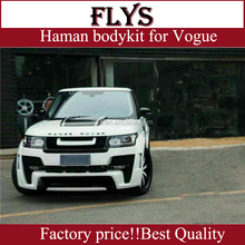 haman design body kit for range rove vogue rover fit 13-14 year. Plastic material . Perfect fitment!