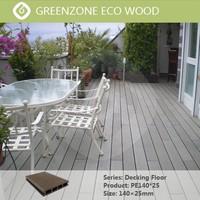 Natural Style Low maintenance oudoor wpc rubber wood floor composite decking