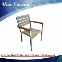 Aluminum Teak Wooden Chair 101056