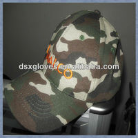 fashional mens embroidered camo caps military caps hunting caps