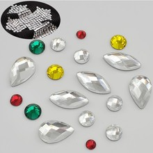 Premium Hotfix Rhinestone Flat Back Crystal Rhinestone For Shirt Using adhesive back rhinestones