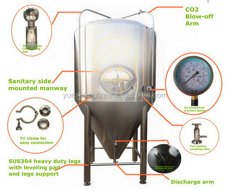 10bbl Used Conical Beer Fermenter Buy Beer Fermenter