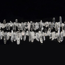Wholesale Healing Small Natural Quartz Crystals Points Beads