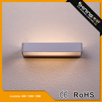 Latest style surface installation shine up and down wall light