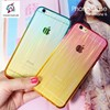 2015 new product color stripe Ultra thin tpu mobile phone case for iphone 6