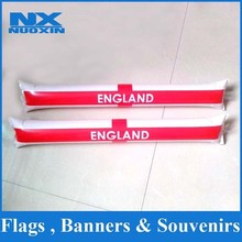 wholesale china factory supply inflatable hockey stick custom inflatable stick promotion inflatable stick for world cup